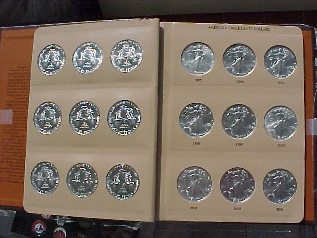 American Silver Eagles 1986-2014 CH BU Set