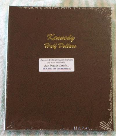 7166 Kennedy Half Dollars Dansco Album Ray Komka Coins