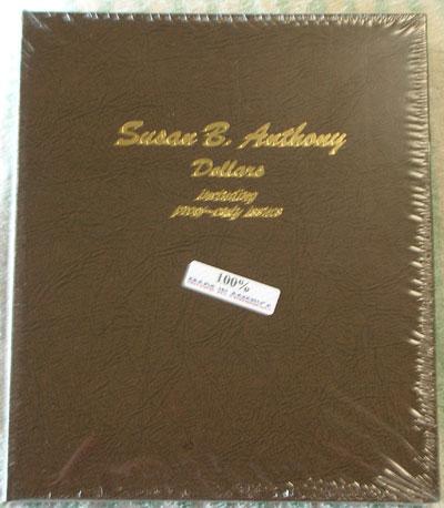 SUSAN B ANTHONY DANSCO 8180 COIN ALBUM U.S