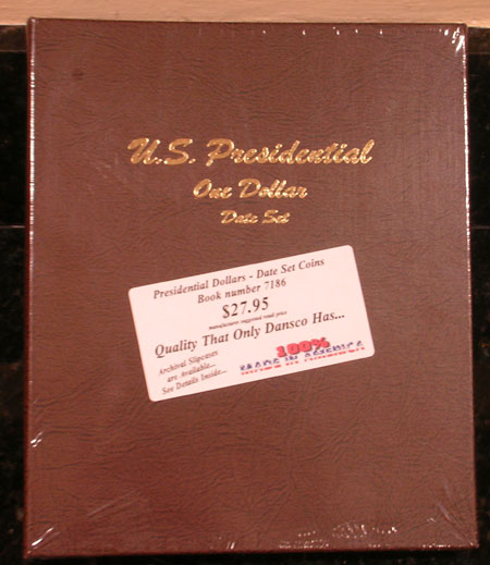 7186 Us Presidential One Dollar Date Set Dansco Album