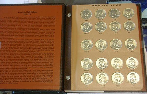 Dansco US Commemorative Half Dollar Coin Album with Proof #7063