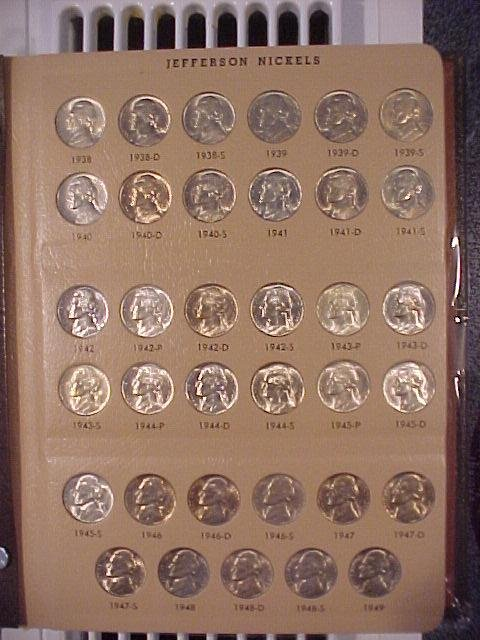 1938-2005 Complete Set of Jefferson Nickels CH BU and Gem Proof Coin Set