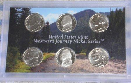 2004 Westward Journey Nickel Series Coin Set 6 Coin Set