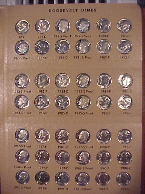 Roosevelt Dimes 1965-2014 Complete Set CH BU and Gem Proof