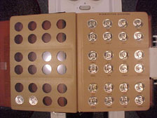 Washington Quarters 1941-1964 Complete Set BU