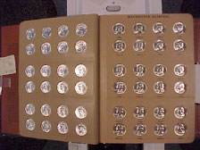 Washington Quarters 1941-1998 Complete Set BU and Proof