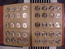 Kennedy Half Dollar Set 1964-2014 Collection in CH BU