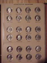 Washington Quarter 1965-1998 Complete Set BU and Proof