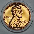 1961 Gem Proof Lincoln Cent Singles