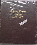 Liberty Seated Quarters 1838-1891 Dansco Album #6142