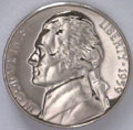 1959 Gem Proof 65 Jefferson Nickel Singles