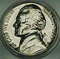 1953 Gem Proof 65 Jefferson Nickel Singles