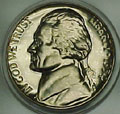 1954 Gem Proof 65 Jefferson Nickel Singles