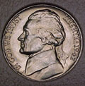 1942-D CH BU Jefferson Nickel Singles