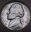 1942-S CH BU Jefferson Nickel Singles