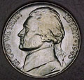 1943-P CH BU Jefferson Nickel Singles
