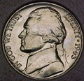 1943-D CH BU Jefferson Nickel Singles