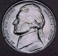 1944-P CH BU Jefferson Nickel Singles