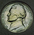 1944-D CH BU Jefferson Nickel Singles