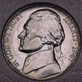 1947-P CH BU Jefferson Nickel Singles