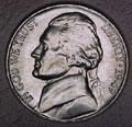 1949-S CH BU Jefferson Nickel Singles