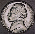 1950-P CH BU Jefferson Nickel Singles