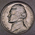 1950-D CH BU Jefferson Nickel Singles