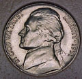1951-P CH BU Jefferson Nickel Singles