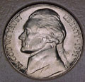 1951-D CH BU Jefferson Nickel Singles