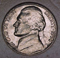 1954-P CH BU Jefferson Nickel Singles