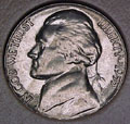 1955-P CH BU Jefferson Nickel Singles