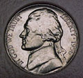 1956-P CH BU Jefferson Nickel Singles