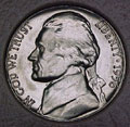 1956-D CH BU Jefferson Nickel Singles