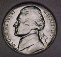 1957-D CH BU Jefferson Nickel Singles