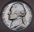 1960-P CH BU Jefferson Nickel Singles