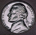 1970-D CH BU Jefferson Nickel Singles
