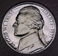 1971-S Gem Proof Jefferson Nickel Singles