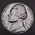 1973-D CH BU Jefferson Nickel Singles