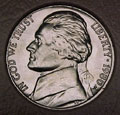1980-P CH BU Jefferson Nickel Singles