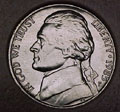 1985-P CH BU Jefferson Nickel Singles