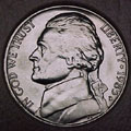 1985-D CH BU Jefferson Nickel Singles