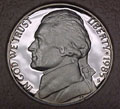 1985-S Gem Proof Jefferson Nickel Singles