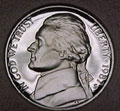 1987-S Gem Proof Jefferson Nickel Singles