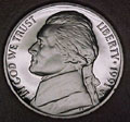 1991-S Gem Proof Jefferson Nickel Singles