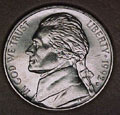 1992-D CH BU Jefferson Nickel Singles