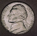 1993-P CH BU Jefferson Nickel Singles