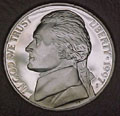 1997-S Gem Proof Jefferson Nickel Singles