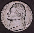 2001-P CH BU Jefferson Nickel Singles