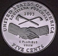 2004-S Handshake Gem Proof Jefferson Nickel Singles