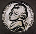 1968-S Gem Proof Jefferson Nickel Singles